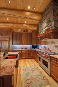 log home interiors Barth-Log-Home-Kitchen