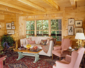 log home interiors, great room 6